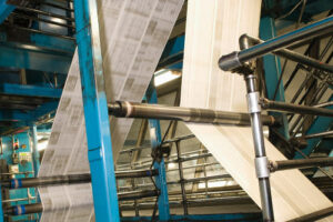 Heating and ventilation systems for print works