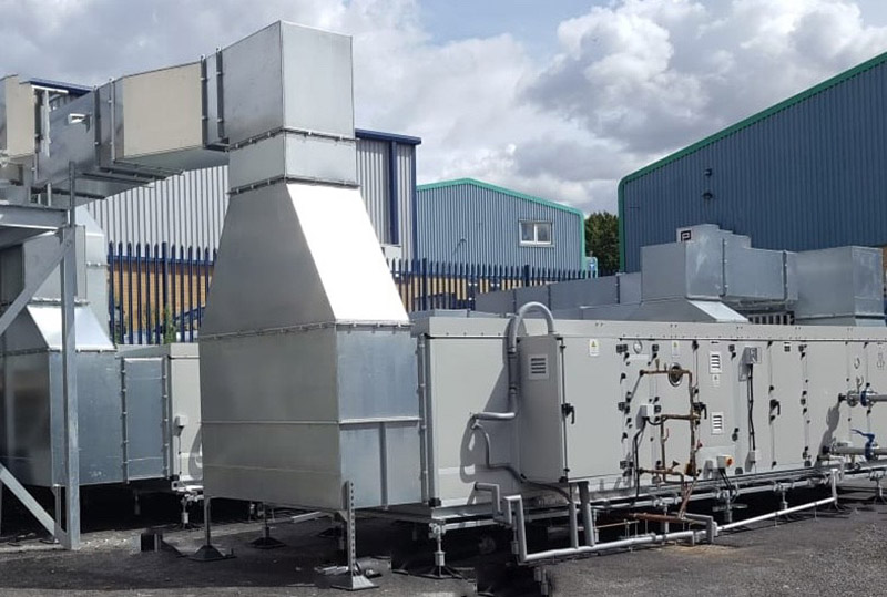 Clean room ventilation systems by Scott Heating and Ventilation